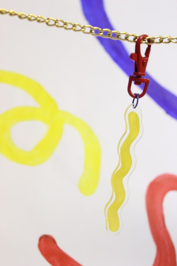 Party Bag Charm Blurred Lines